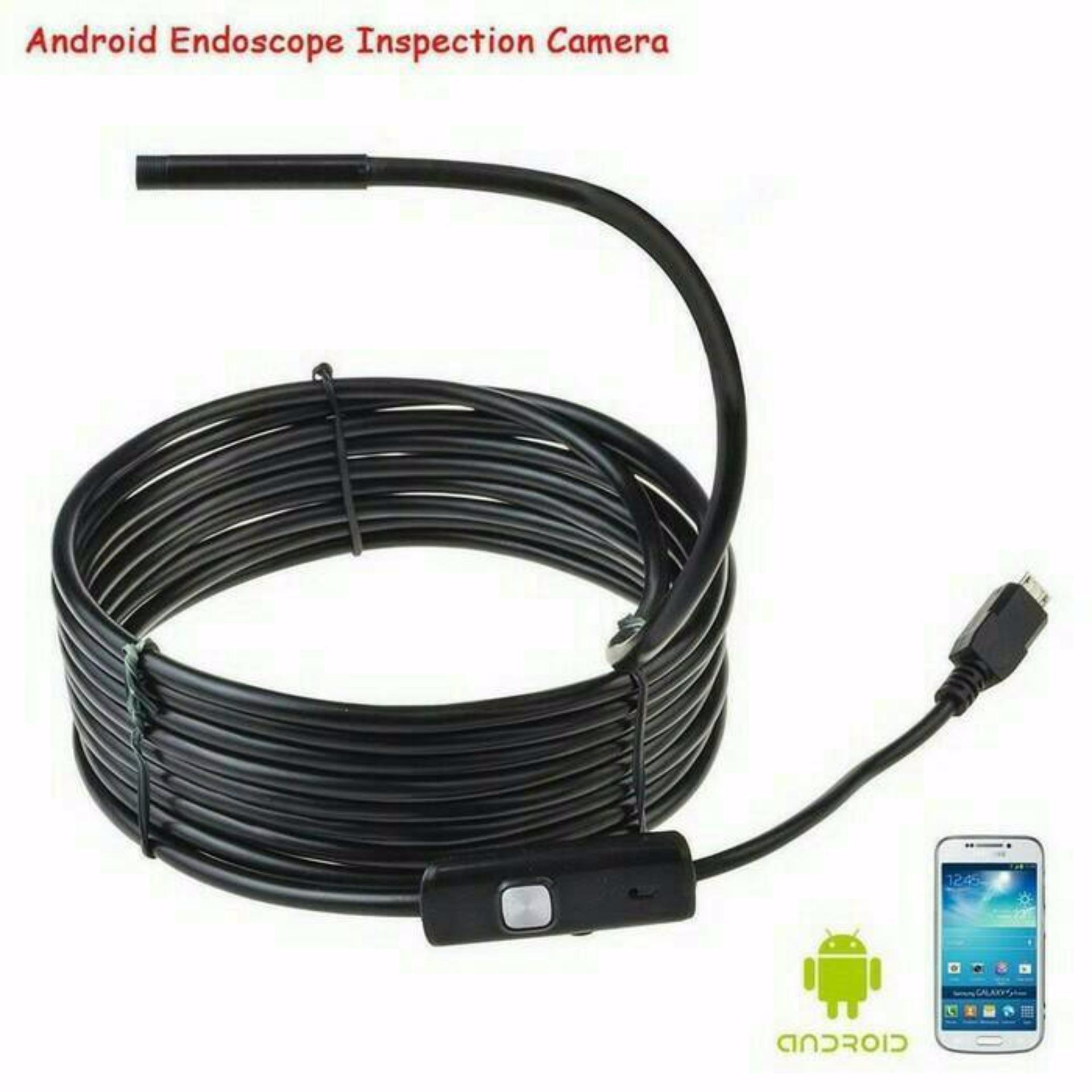Kamera Kabel / Endoscope Camera Panjang 5 Meter