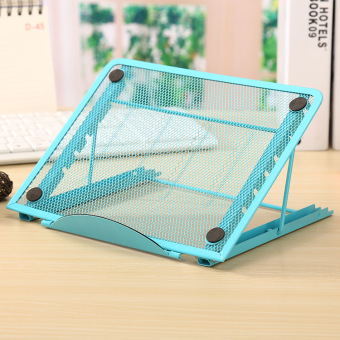 Kantor meja meja meja dilipat multifungsi notebook braket cooling pad