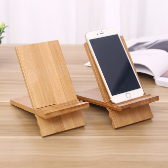 Kayu malas menonton TV Tablet PC Holder handphone kursi