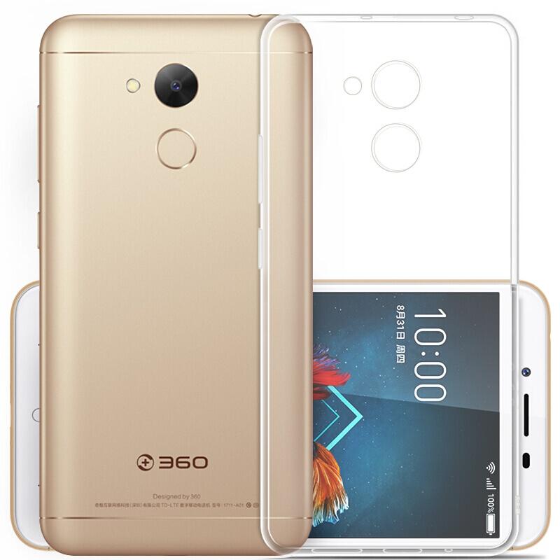 Kepribadian silikon transparan merek populer ponsel shell pelindung lengan .