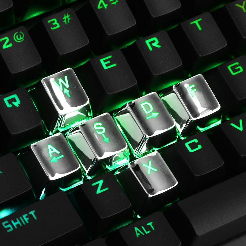 Keycap 104 PBT Double Shot Injection Backlit Keycaps for all Mechanical Keyboards with .