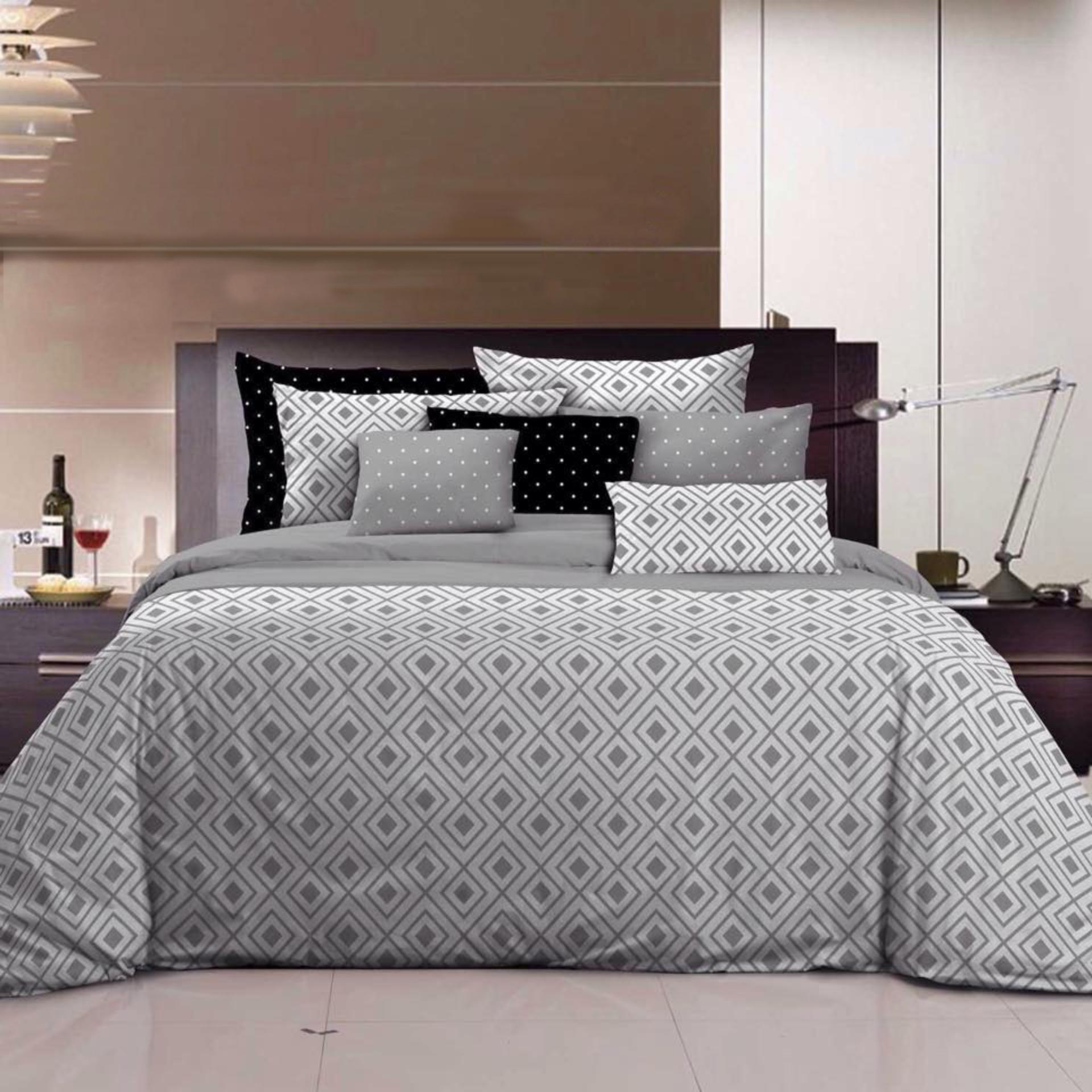 Sprei Vallery Quincy Lime King 180 200. Source · KING Set Bedcover Katun Motif Minimalis