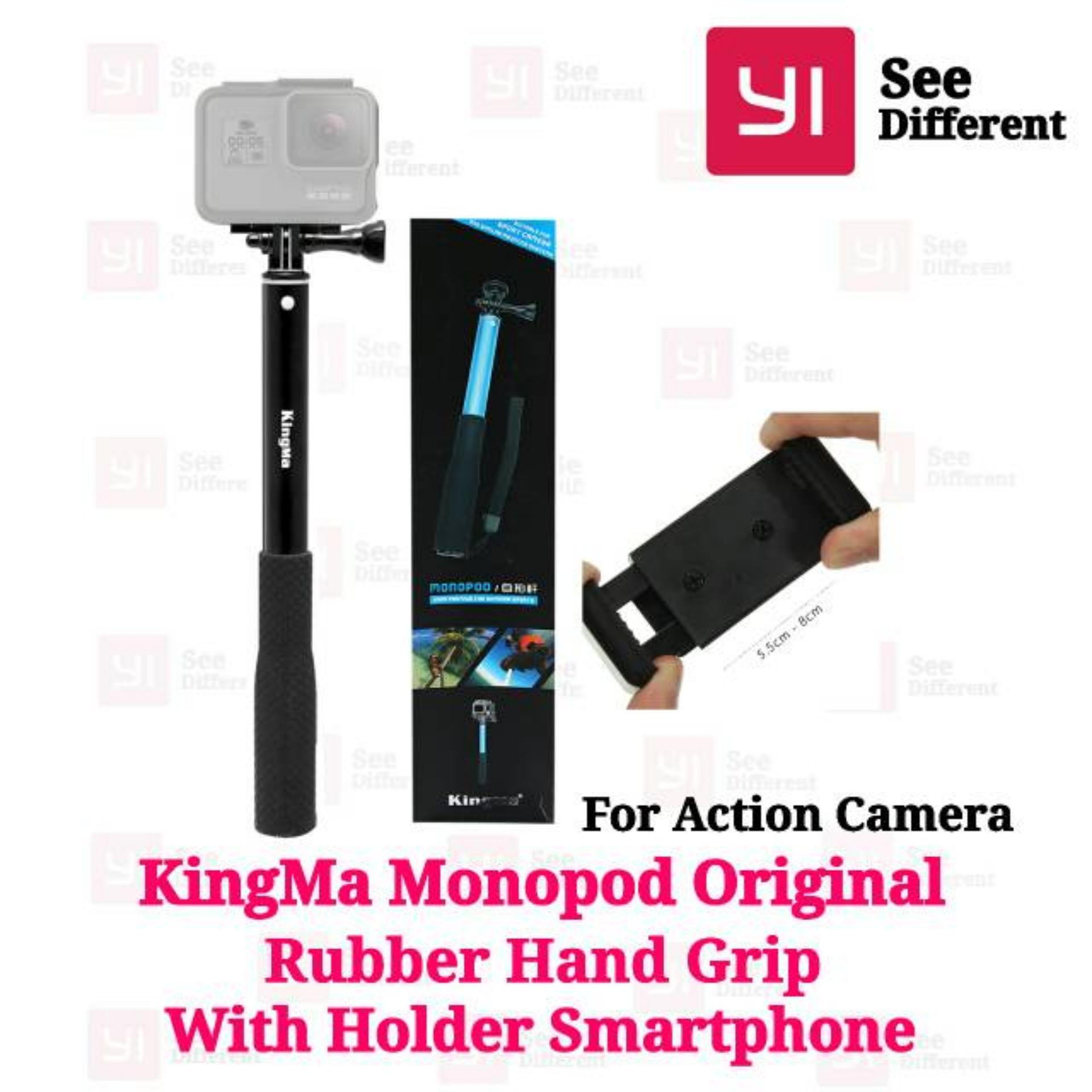 Online Murah Kingma Monopod Original For Action Cam Seperti Tongsis Attanta Universal Clamp Holder U Hp
