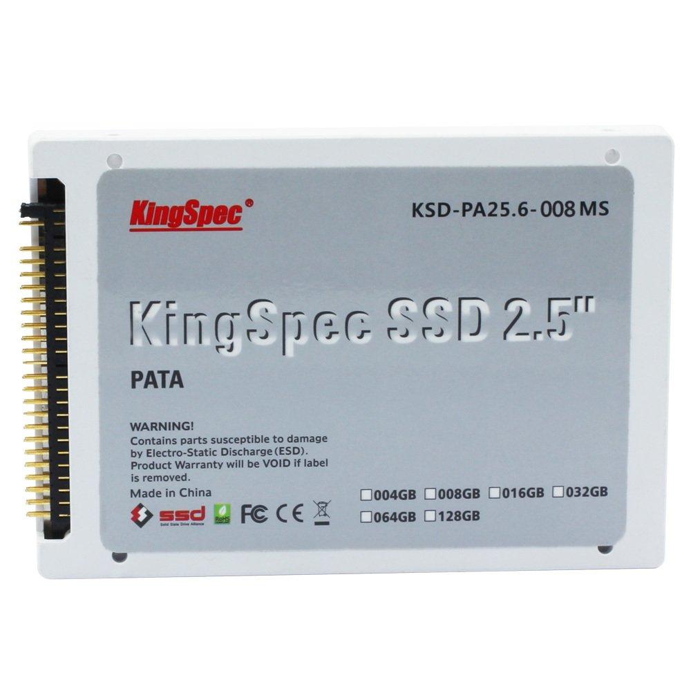 KingSpec PATA (Ide) 6.35 cm 8 GB MLC Solid State Drive .