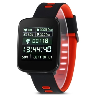 KingWear GV68 Smartwatch IP68 Waterproof Bluetooth 4.0 Android iOS Compatible Heart Rate Monitor Remote Camera Pedometer - intl - 3