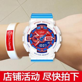 Korea Fashion Style siswa muda anak-anak yang lucu menonton elektronik jam tangan