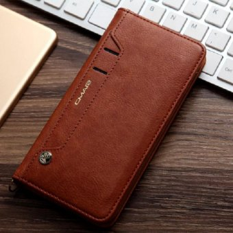 Lantoo iPhone 6 plus/6s plus Case,Leather iPhone 6 plus/6s plusWallet Case Book Design with Flip Cover and Stand [Credit CardSlot] Magnetic Closure Cover Case for Apple iPhone 6 plus/6s plus -brown - intl