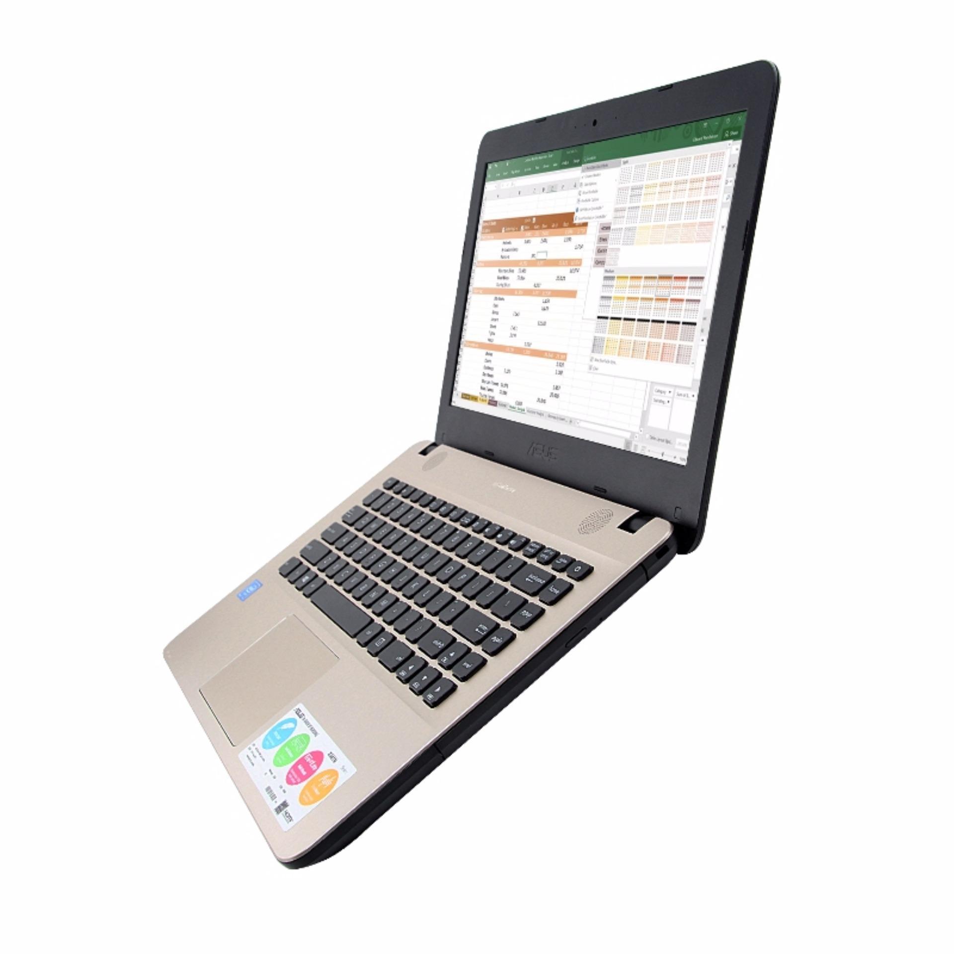 Daftar Harga Laptop Asus X441 Na Dual Core Ram 2gb Hd 500gb X441na N3350 4gb Intel Dos Resmi Bergaransi