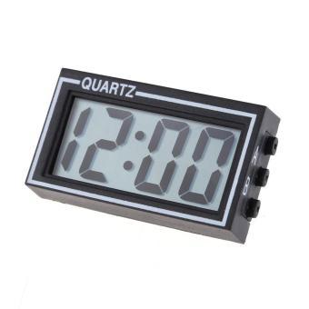 harga LCD Mobil Truk Mini Digital Otomatis Kontrol Kalender Tanggal Dan Waktu Jam (Hitam) Lazada.co.id