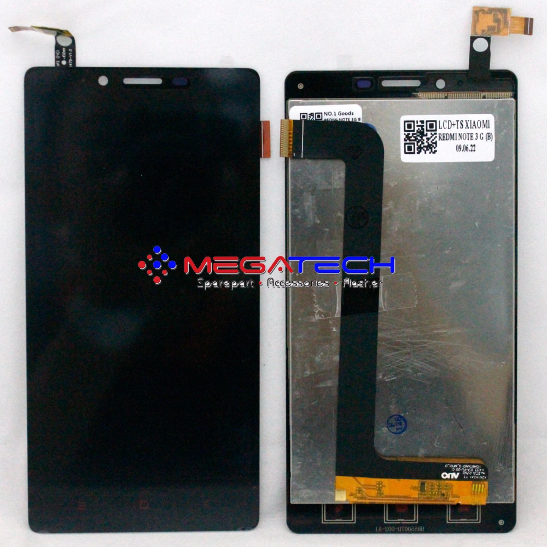 Pelacakan Harga Lcd Touchscreen Xiaomi Redmi Note 3g Black Baru Flash Sale