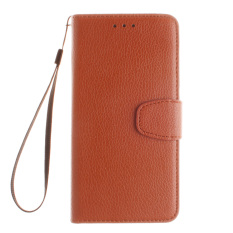 Leather Case Flip Stand Cover for Xiaomi Redmi Note 3 (Brown)