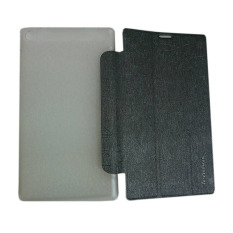 Leather Case Tablet For Lenovo Tab 2 A7-30 Leather Flip Stand Smart Case Cover/ Sarung Pelindung Tablet - Abu-abu
