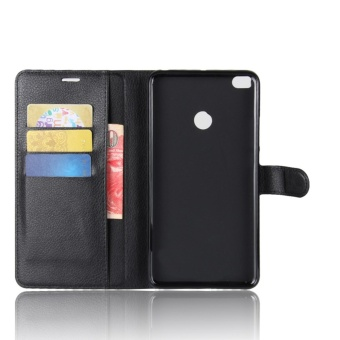 Leather Flip Cover Phone Case Wallet Card Holder For Xiaomi Mi Max2 -