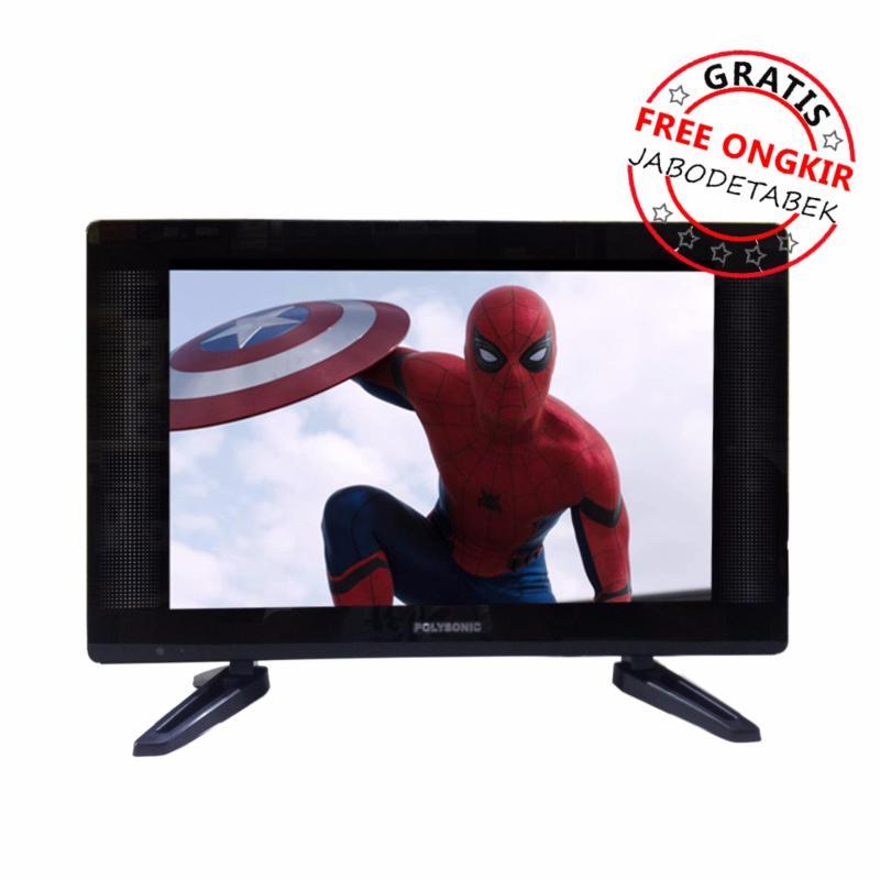 LED TV 22 inch Polysonic PS2295 Wide - Free Ongkir JABODETABEK