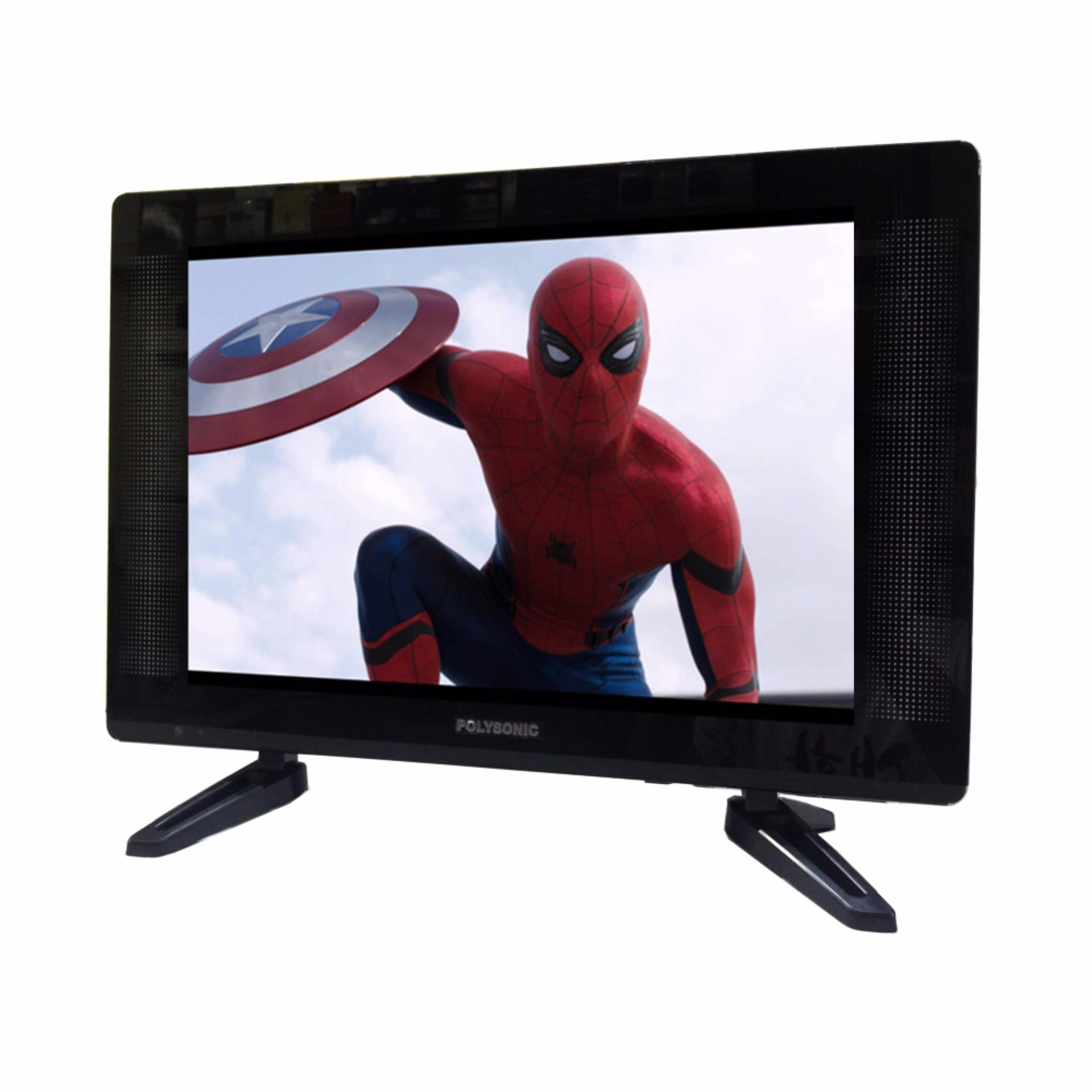 ... LED TV 22 inch Polysonic PS2295 Wide - Hitam ...