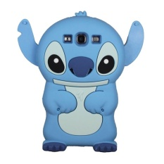 Rp 279.000. Leegoal Dark Blue Cute 3D Stitch with Movable Ears Silicone RubberSoft Case Cover Fit for the New Samsung Galaxy S3 i9300 ...