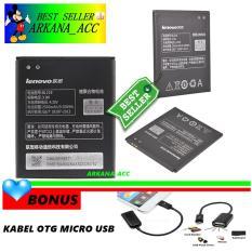 Lenovo Baterai / Battery BL219 For Lenovo A880 / A850 Original - Kapasitas 2500mAh + Gratis Kabel Otg Micro Usb