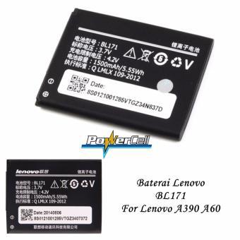 Lenovo Baterai BL171 For Lenovo A390 / A60 Original - Hitam