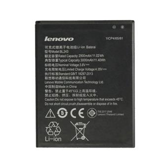 Lenovo BL 243 Original Baterai For Lenovo A7000 / K50 / T5 K3 Note