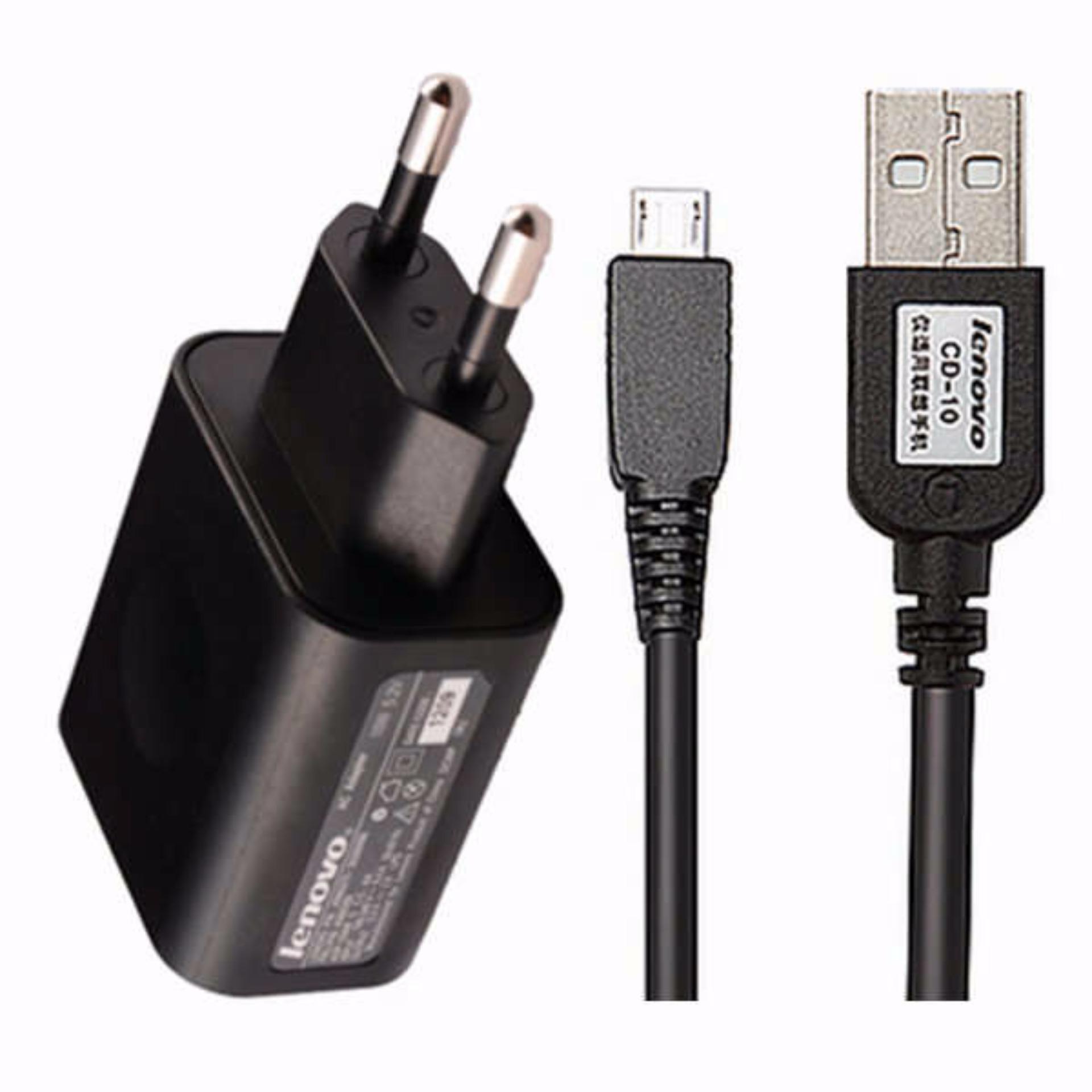 Lenovo Travel Charger 2a C P08 Kabel Micro Usb Original Nonpack P36