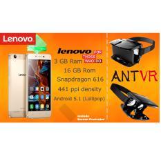 Lenovo Vibe K5 Plus - 4G/LTE - RAM 3GB - Internal 16GB - Gold get ANT-VR