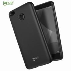 LENUO Silky Touch Hard Plastic Case for Xiaomi Redmi 4X - Black - intl