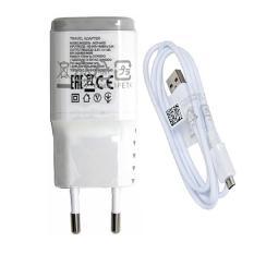 LG Travel Charger Micro USB Type MCS-04ED Original For LG G2-Putih / Hitam