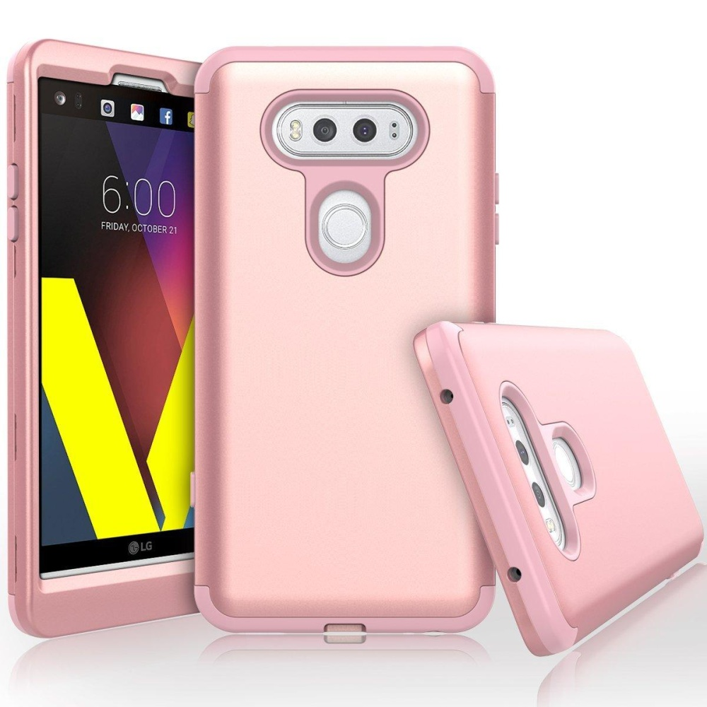 LG V20 Case, Heavy Duty High Impact Defense Shield Hard PC OuterShell .