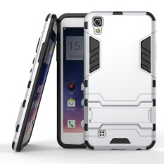 LG X Power Case Slim Armor with Kickstand Shock Absorbing Dual Layer Hybrid Rugged Rubber 2