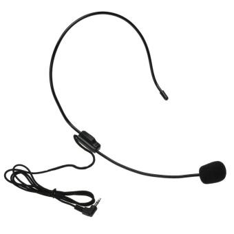 Lightweight Wired Class Presentation Amplifier Speaker Microphone Headset - intl