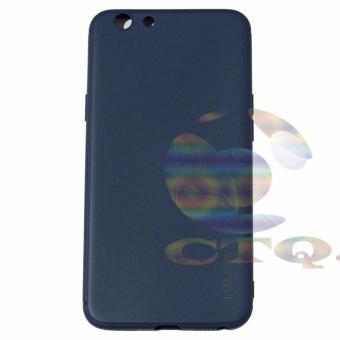 Lize Jelly Case Oppo A39 Candy Rubber Skin Soft Back Case /Softshell / Silicone Oppo A39 / Jelly Case / Ultrathin / CaseSamsung / Casing Hp - Navy / Biru Tua