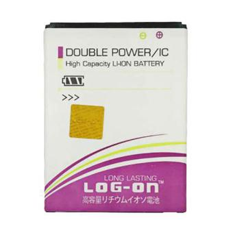 LOG-ON Battery For Acer Liquid Z220 - Double Power & IC Baterai- Garansi 6 Bulan