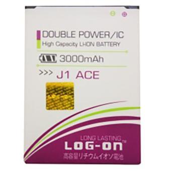 LOG-ON Battery For Samsung Galaxy J1 Ace 3000mAh - Double Power& IC Battery - Garansi 6 Bulan