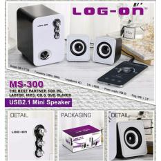 Log On Mini Multimedia Speaker  2.1 channel portabel spiker MS-300