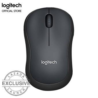 Logitech M220 Silent Wireless Mouse - Abu-abu