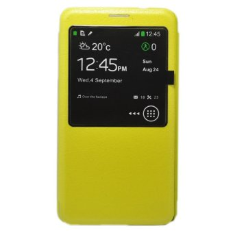 LOLLYPOP My Cover S View Samsung Galaxy Note 3 - Kuning
