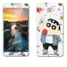Luxury 3D Painting Front+Back Full Case Cover Color Tempered GlassCase For Samsung Galaxy C9pro