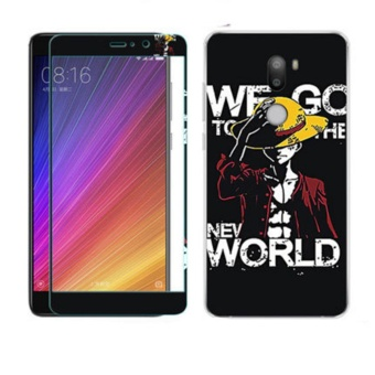 Luxury 3D Painting Front+Back Full Case Cover Color Tempered GlassCase For Xiaomi Mi 5s Plus Screen Protector Film (Color-6) - intl
