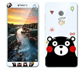 Harga Saya Luxury 3D Painting Front+Back Full Case Cover Color Tempered GlassCase For Xiaomi