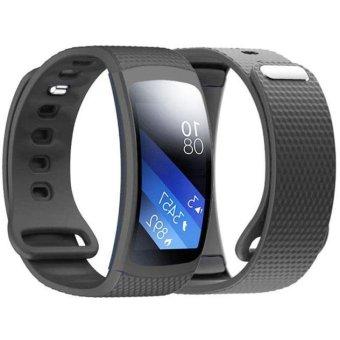 Luxury Replacement Silicone Watch Strap For Samsung Gear Fit 2SM-R360 - intl