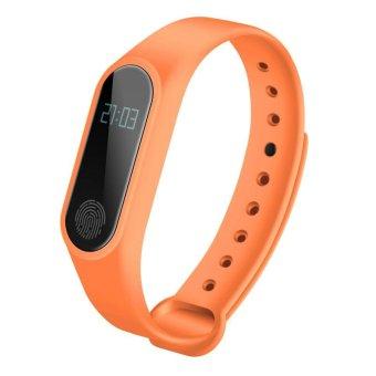 M2 Wristband Heart Rate Monitor Smart Watch Sports Reminder SmartBand Fitness Tracker Bracelet - intl