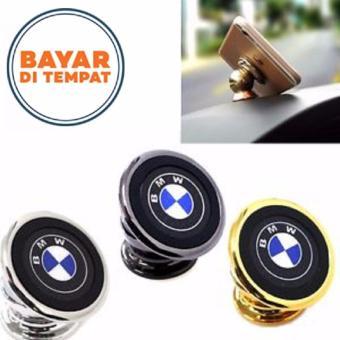 Magnet Holder Stand Handphone - Penyangga Hp di Mobil Model Logo Mobil