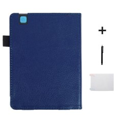 Magnetic Auto Sleep Leather Cover Case untuk Kobo Aura Edition 2 EReader 6 Inci DB-Intl