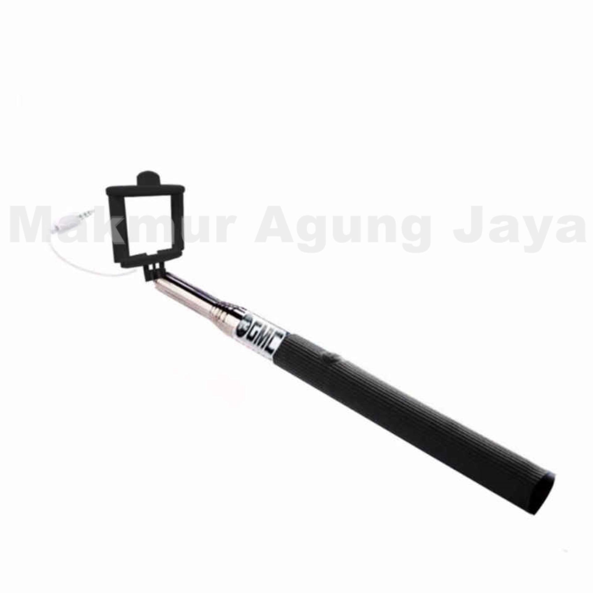 ... MAJ Tongsis Monopod Selfie Stick Kabel Lipat Dengan Tombol - Warna Random ...