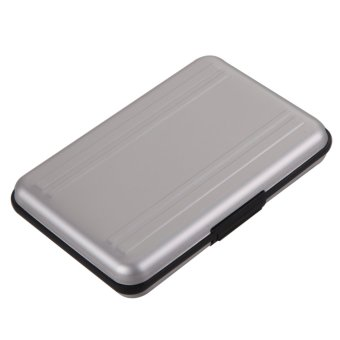 harga Manusia Micro SD Penyimpanan SDXC Pemegang Kartu Memori Case Pelindung Aluminium Lazada.co.id
