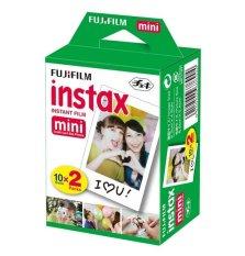 [Matahari Foto] Fujifilm Refill Instax Mini Film Plain - 20 Lembar Twinpack