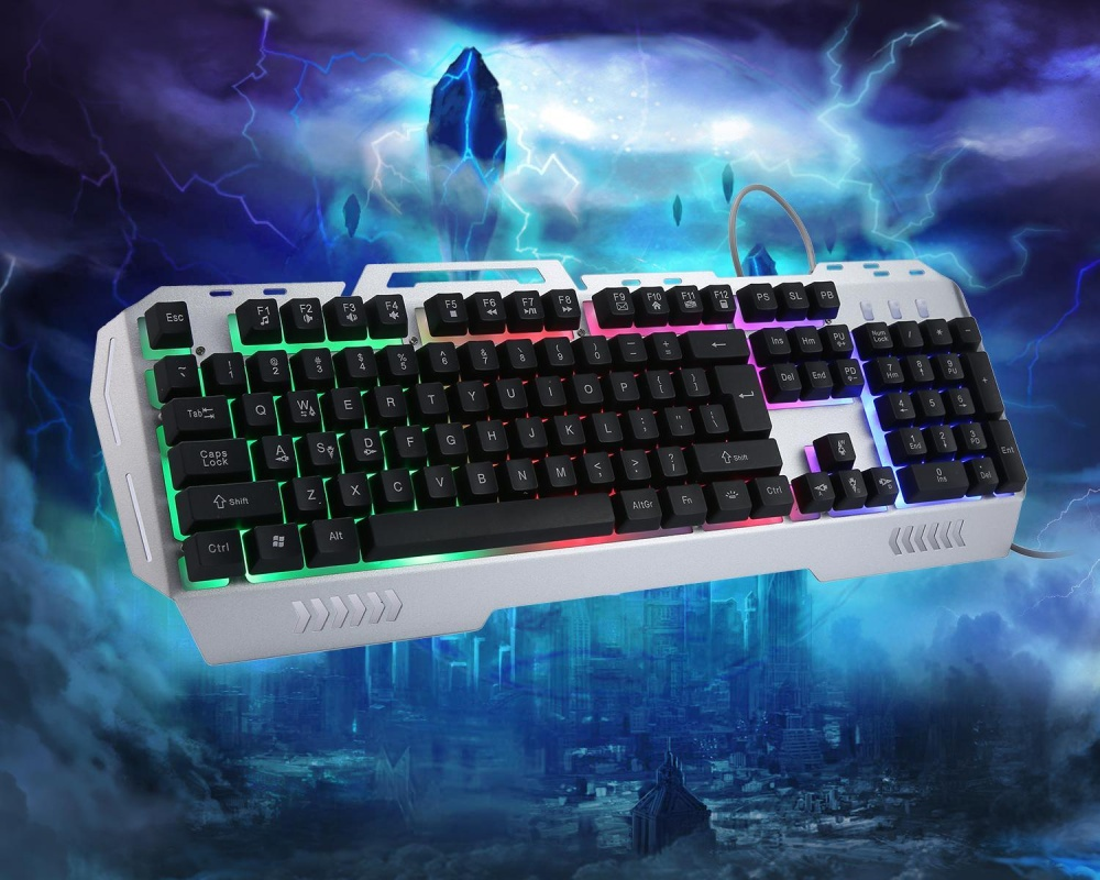 Aula Killing The Soul Crossfire Gaming Combo Keyboard Mouse Incubus Hitam Mayi K3 Usb Wired