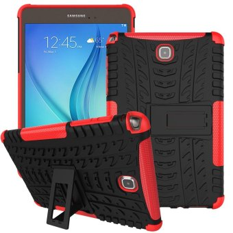 Meishengkai Case For Samsung Galaxy Tab A 8.0 Detachable 2 in 1 Hybrid Armor Design Shockproof Tough Rugged Dual-Layer Case Cover with Built-in Kickstand ...