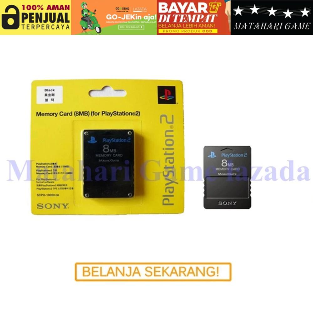 Memory Card For Playstation 2 - Original - 8Mb - SONY Kualitas no.1