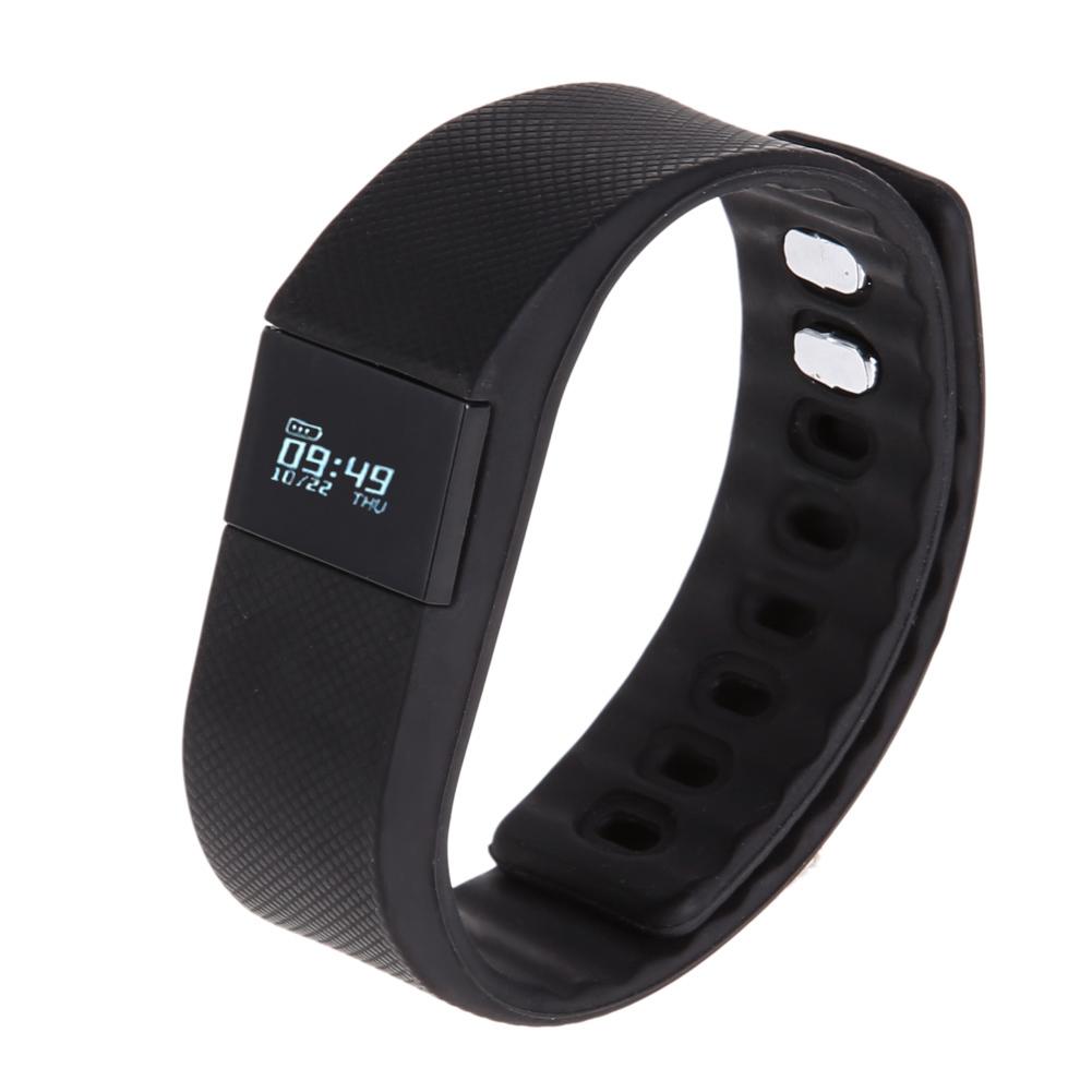 ... Memperbarui Waterproof Bluetooth gelang tangan untuk Android iOS (hitam) ...